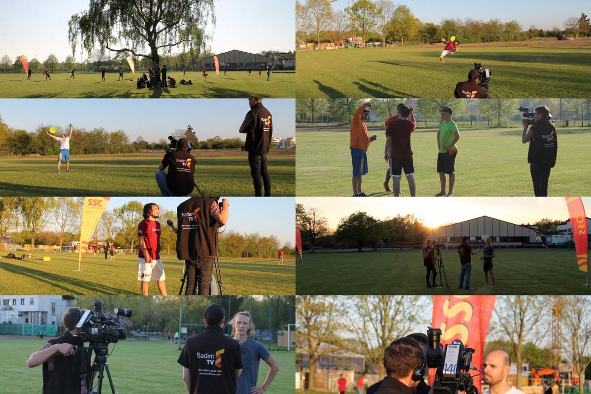 Baden TV Dreharbeiten