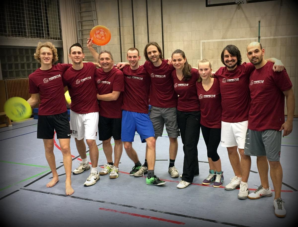 Neue Freestyle Karlsruhe Teamshirts