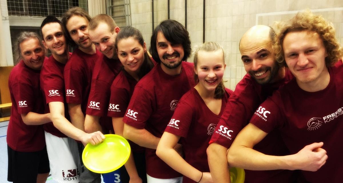 Neue Teamshirts SSC Frisbeeabteilung