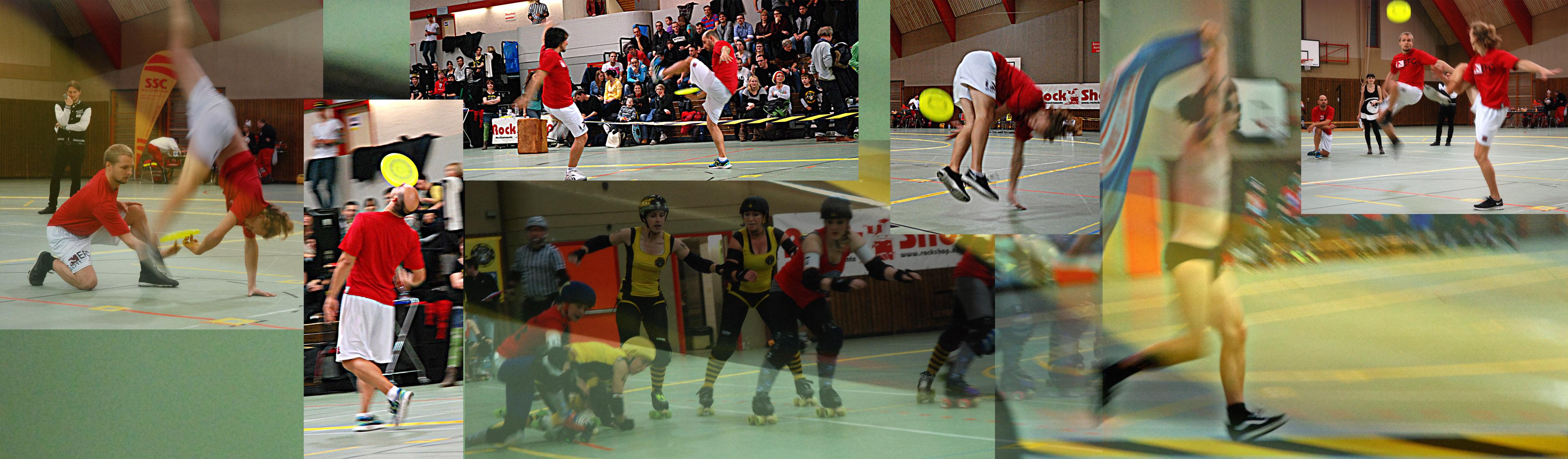Roller Derby Halbzeitshow